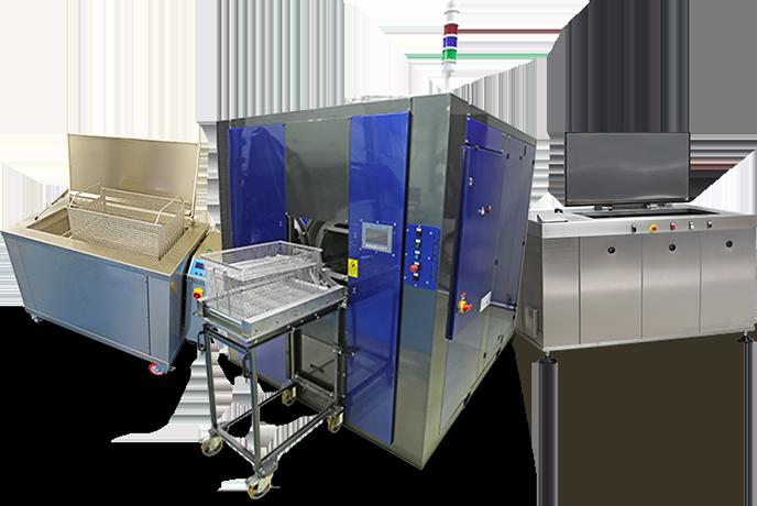 Ultraschallreinigungsanlagen